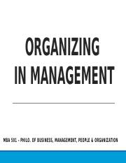 managerial function Organizing.pptx