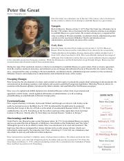 Peter the Great DBQ.pdf