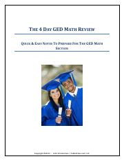 GED-Math-Review-Notes