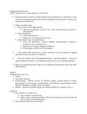 Psych3250 - Final Review Session Notes