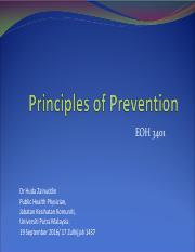 EOH 3401 5 Principles of Prevention 2016