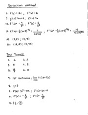 algebra of calculus packet answers. Black Bedroom Furniture Sets. Home Design Ideas