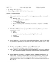 Unit 3 exam study guide