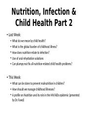 6 - SLS19_Duggan - Child Health and Infection 2014 - Week 2.pptx
