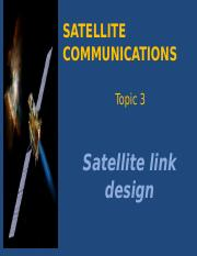 Chapter 3 - Satellite link design_lecturer