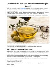 What are the Benefits of Olive Oil for Weight Loss.pdf