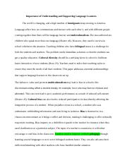 Importance of Understanding and Supporting Language Learners Final Edit.docx