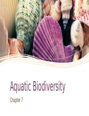 Aquatic Biodiversity [Autosaved].pptx