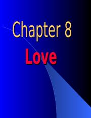 Chapter 8 - Love.ppt