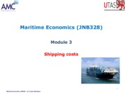 3 Module 3 Shipping costs