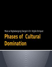 Phases of  Cultural Domination.pptx