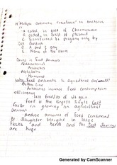 drugs in food animals notes