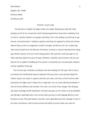 ESSAY 3 evaluation essay-dan