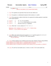MATH 211 Spring 2008 Quiz 3 Solutions