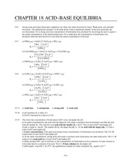 Homework E Solutions on Principles of Chemistry