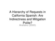 A+Hierarchy+of+Requests+in+California+Spanish