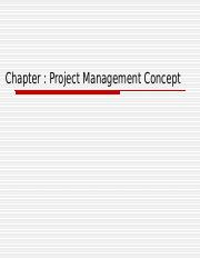Chapter 10  Project Management concept.ppt