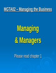 01 - Managers & Managing - May 4(2).ppt