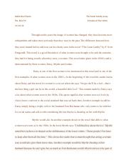 The Great Gastby essay.docx