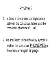 Reading II Phonics Review Updated without the answers revised final (1)
