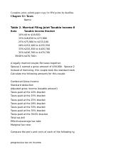 Intermediate Macroeconomics Tax Table Calculations HW ANSWERS.xlsx