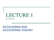 Lecture 1-ACC. Theory