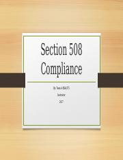 Week4_TeamA Section 508 Compliance Template