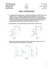 Sheet1 Bolted Brackets