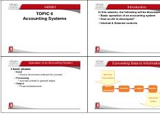 Topic 6B Accounting Systems 2015