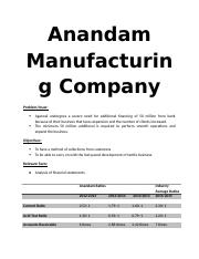 ANANDAM MANUFACTURING COMPANY.docx