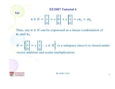 EE2007 Tut4 Solution(1)