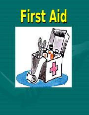 First-aid colorful Hyde.ppt