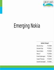 Section3-Group4 Emerging Nokia.pptx