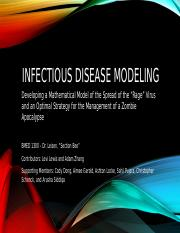 Problem III - Infectious Disease Modeling (Ashton Done).pptx