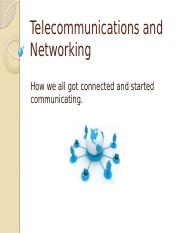 Telecommunications_Networking