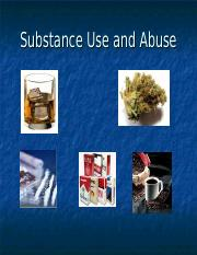 03 Substance Use and Abuse