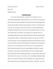 The Creature ( English Essay 12th gd).docx