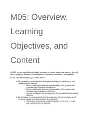 M05_ Overview, Learning Objectives, and Content.docx