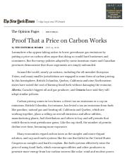 Proof That a Price on Carbon Works - The New York Times.pdf