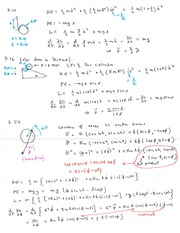 Phys 358 Velocity in Spherical Coordinates Notes