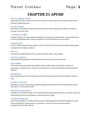 Chapter 21 - Quizlet