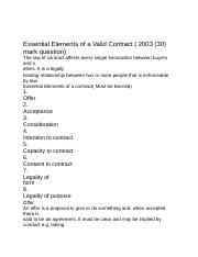 Essential Elements of a Valid Contract.docx
