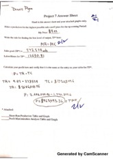 Principals of Micro Project 7 Answer Sheet Graded