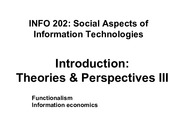 INFO202-S15-Lecture03-Theory-Functionalism+Economics