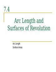 7.4__Arc_Length_and_Surfaces_of_Revoluti