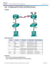 routing and switching essentials lab manual answers