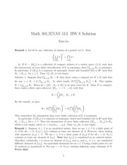 Math 301 Problem Set 8 Solutions
