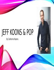 JEFF KOONS Project CR.pptx