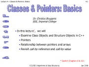 Lecture4-classes&pointers