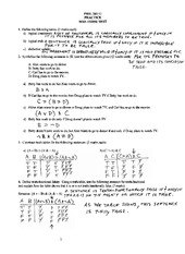 Phil 241 Practice midterm solutions
